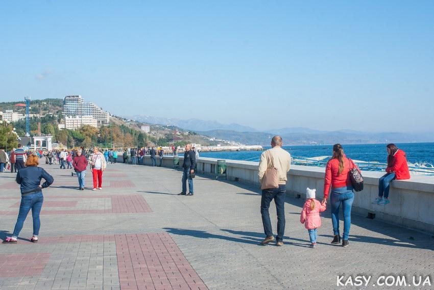 Осенний пешеходный поход по Крыму