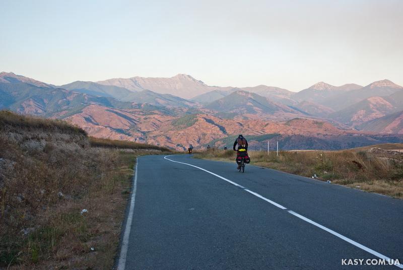 Велопоход по Арменії